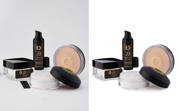 Cosmetic product Clipping path